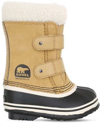 Sorel Waterproof Nubuck Snow Boots