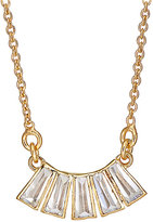 Katie Diamond KATIE DIAMOND WOMEN'S CURVED-PENDANT NECKLACE-GOLD