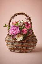 BHLDN Woodland Flower Girl Basket