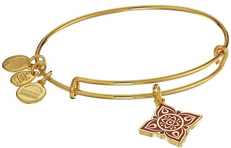 Alex and Ani The Root Chakra Bangle (Shiny Gold) Bracelet
