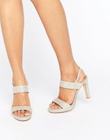 Dune Bridal Maye Gold Heeled Sandals