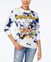 Hybrid Juniors' Warner Bros Looney Tunes Graphic Sweatshirt