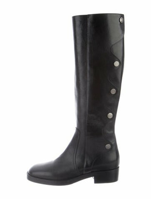 Christian Dior Diorodeo Leather Riding Boots w/ Tags Black