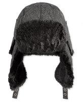 Levi's Men's Donegal Trapper Hat with Faux-Fur Trim