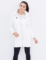 Florence Biker Puffer Trench