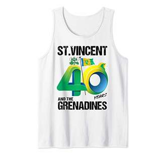 St. Vincent & The Grenadines 40th Independence Anniversary Tank Top