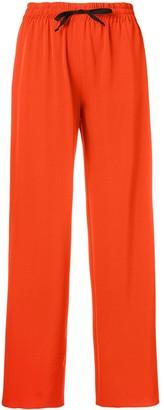 Blanca Vita wide leg tapered trousers