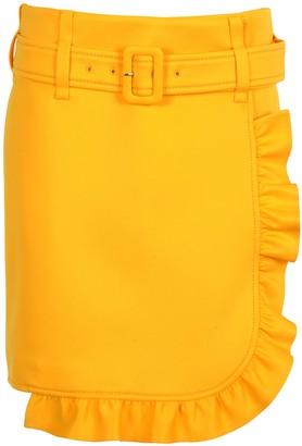 Prada Ruffle-trim Skirt