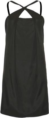Format PLOT Black Silk Dress - M - Black