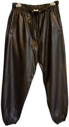 Natasha Zinko Black Trousers for Women