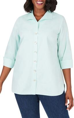Foxcroft Pandora Non-Iron Tunic Shirt