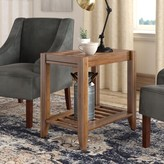Athena Solid Wood End Table Laurel Foundry Modern Farmhouse