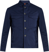 BARENA VENEZIA Mandarin-collar cotton-twill jacket