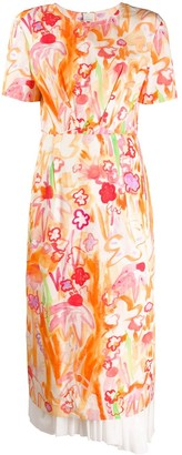 Marni Abstract-Floral Dress