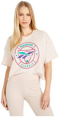 Reebok CL Trail Tee (Buff) Women's Clothing