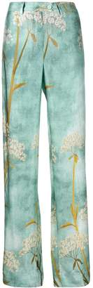 F.R.S For Restless Sleepers printed straight leg trousers