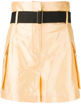 Erika Cavallini Belted Shorts