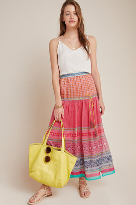 Dayton Tiered Maxi Skirt By Tanvi Kedia in Assorted Size XL