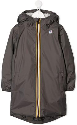 K Way Kids Long Length Raincoat