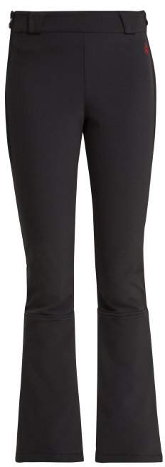 Ancelle High Rise Technical Ski Trousers - Womens - Black
