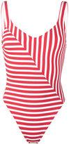 Araks Harley striped swimsuit - women - Nylon/Polyamide/Spandex/Elastane - S