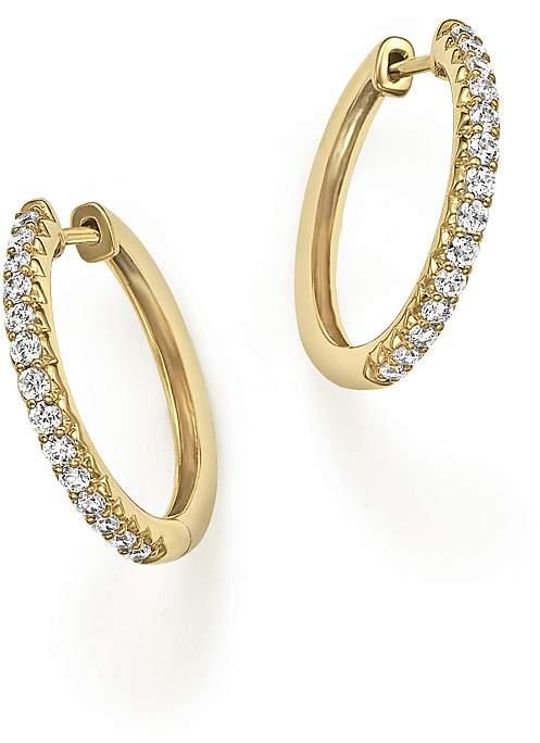 Bloomingdale's Diamond Hoop Earrings in 14K Yellow Gold, .40 ct. t.w.