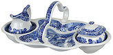 Spode Blue Italian 200th-Anniversary 4-Piece Entertaining Set
