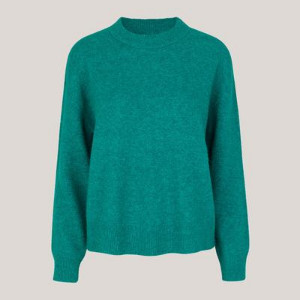 Samsoe & Samsoe Anour Sweater - XS / Quetzal Green Melange - Teal