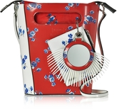Kenzo May Flowers Mini Stiff Tote Bag