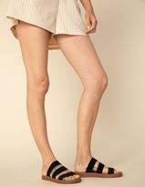 Steve Madden Pascale Black Womens Sandals