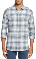 Paige Everett Plaid Flannel Slim Fit Button-Down Shirt