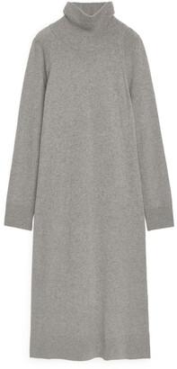 Arket Cashmere Roll-Neck Dress