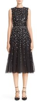 Carolina Herrera Women's Degrade Sequin Silk Midi Dress