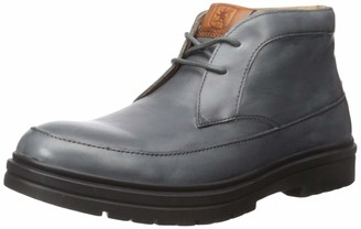 Stacy Adams Men's Alcander Leather Chukka Boot Gray 9 M US
