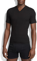 Men's Spanx V-Neck Cotton Compression T-Shirt