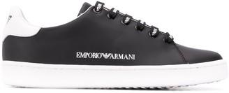 Emporio Armani Two Tone Low Top Sneakers