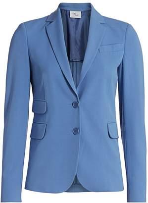 Akris Punto Two-Button Pocket Blazer
