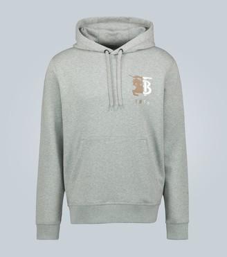 Burberry Contrast logo hooded sweatshirt