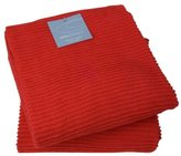 Now Designs Ripple Kitchen Towel (Set of 2), Red