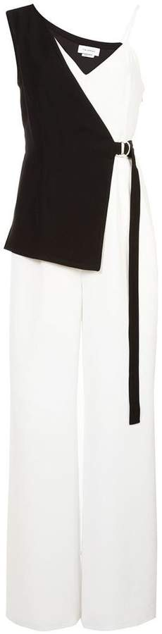 Yigal Azrouel wide-leg wrap jumpsuit