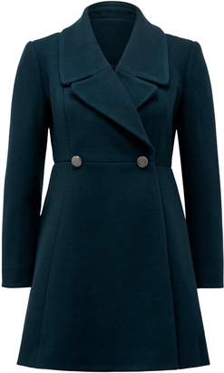 Ever New Hannah Petite Fit and Flare Coat