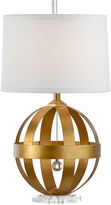 Chelsea House Sphere Table Lamp, Antiqued Gold
