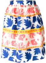 P.A.R.O.S.H. 'Penelope' skirt - women - Polyester/Silk/Polyamide/Wool - XS