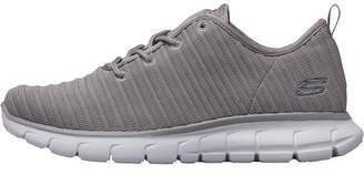 Skechers Womens Vim Trainers Grey/White