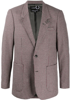 Fred Perry Houndstooth Blazer Jacket