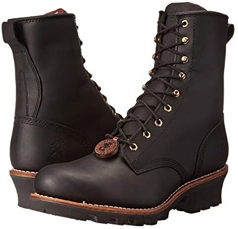 aa9507d07af 8 Steel Toe Logger