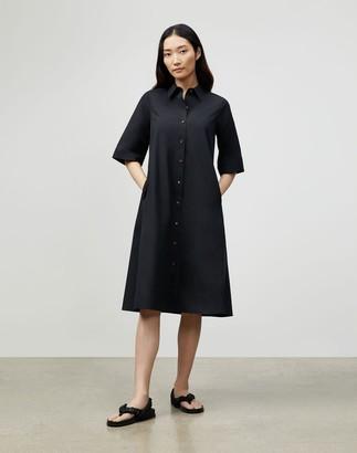 Lafayette 148 New York Plus-Size Sedwick Shirtdress In Italian Sculpted Kindcotton