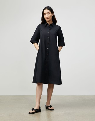 Lafayette 148 New York Sedwick Shirtdress In Italian Sculpted Kindcotton