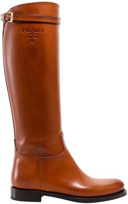 Prada High-Knee Boots