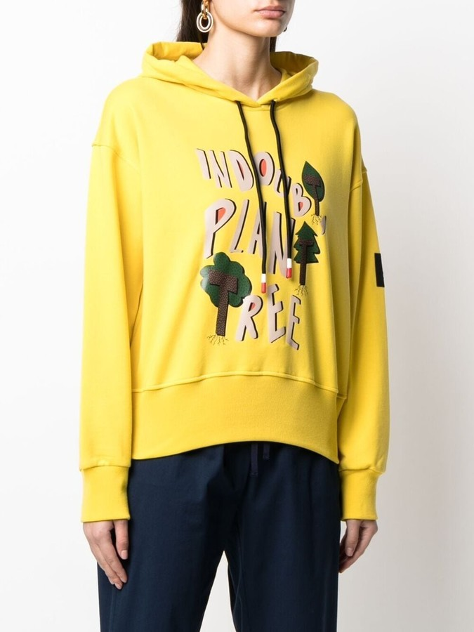 Thumbnail for your product : Peuterey Graphic Print Cotton Hoodie